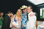 Michael Madsen with Gavin Keilly gifted with his wife in Cannes