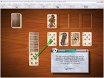 Solitaire City can teach you how to play an unfamiliar game as you participate. No more confusing rules to read
