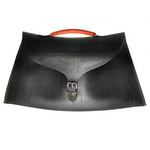 SECCO's Rub-A-Dub Briefcase made from recycled car tire inner tubes