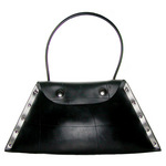 SECCO's Rubbage Shoulder Bag made from recycled car tire inner tubes