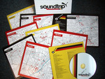 Soundtrip audio CDs in unique map sleeves