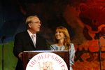 Actors James Keach and Jane Seymour give opening remarks at The Help Group's 29th Annual Teddy Bear Picnic in Beverly Hills, CA on June, 8, 2006.