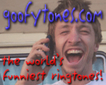 Let it ring, it's a goofytone!