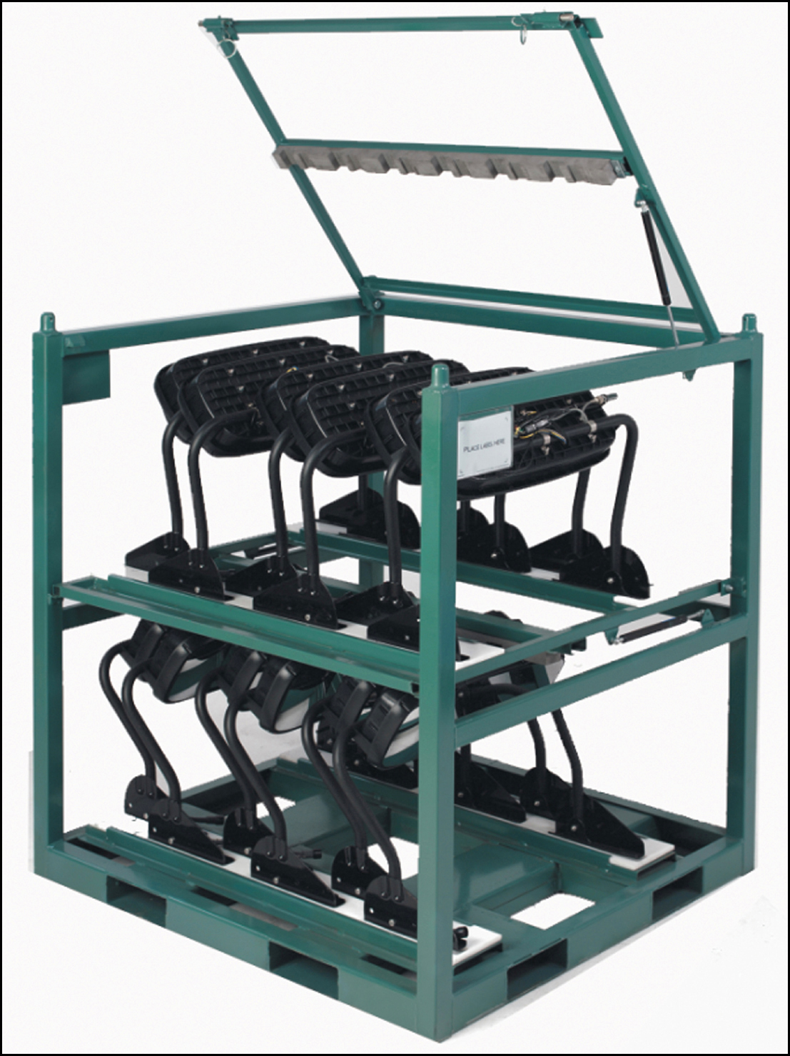 Custom Steel Shipping Racks Eliminate Damage And Take Out