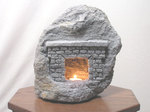 Fireplace Cave Candle