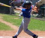 TASBA Baseball Player Hits a Home Run
