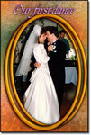 A Wedding Frame Sample From the Weddings & Anniversaries Frame Pack