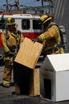 Burbank FIremen Department Oversees No Burn of California Demonstration