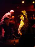 Timbali (percussionist) and Kwanza Jones (vocalist)
