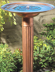 Copper Solar Birdbath (Product No. 5032 $249.95)