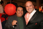 (L)  Roberto Duran (R) John Laub