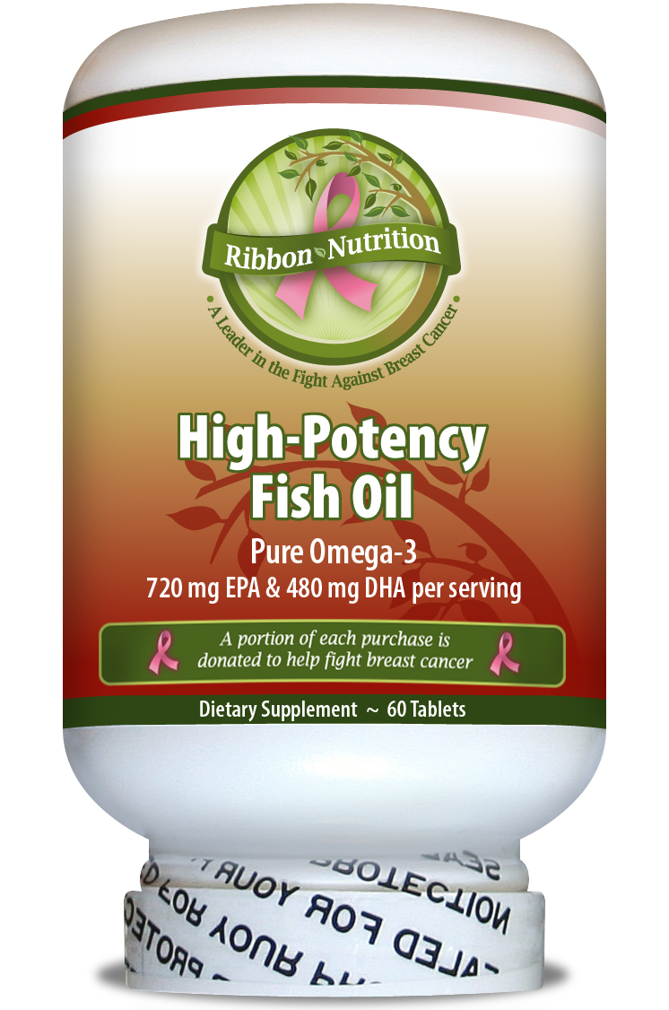 Ribbon nutrition is turning the fight against breast for Fish oil cancer