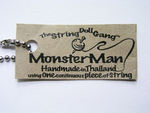 Monster Man String Doll Tag