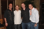 L-R Dr. Mark Sanders, MX Rider Jeff Dement, BMX Rider John Purse and former MX Rider Sean Kirby