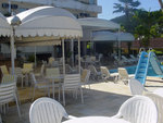 HOTEL TORREMOLINO'S POOL SERVICE AND BAR AREA