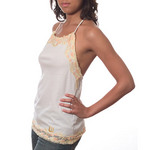 Logan Milan Laced Halter Top