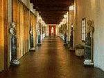 View of the interior of the Vasari Corridor