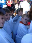 Young Elliott Yamin/JDRF supporters