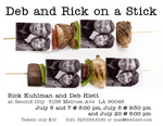 """Deb and Rick on a Stick"" Comedy Show"