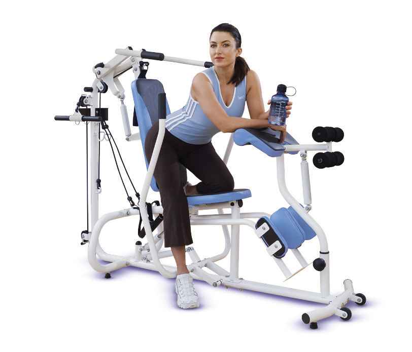 Top Exercise Equipment: New HERS Hydraulic Home Circuit Trainer