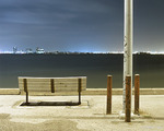 """Bench and Poles"" Copyright 2005 by John Vias"