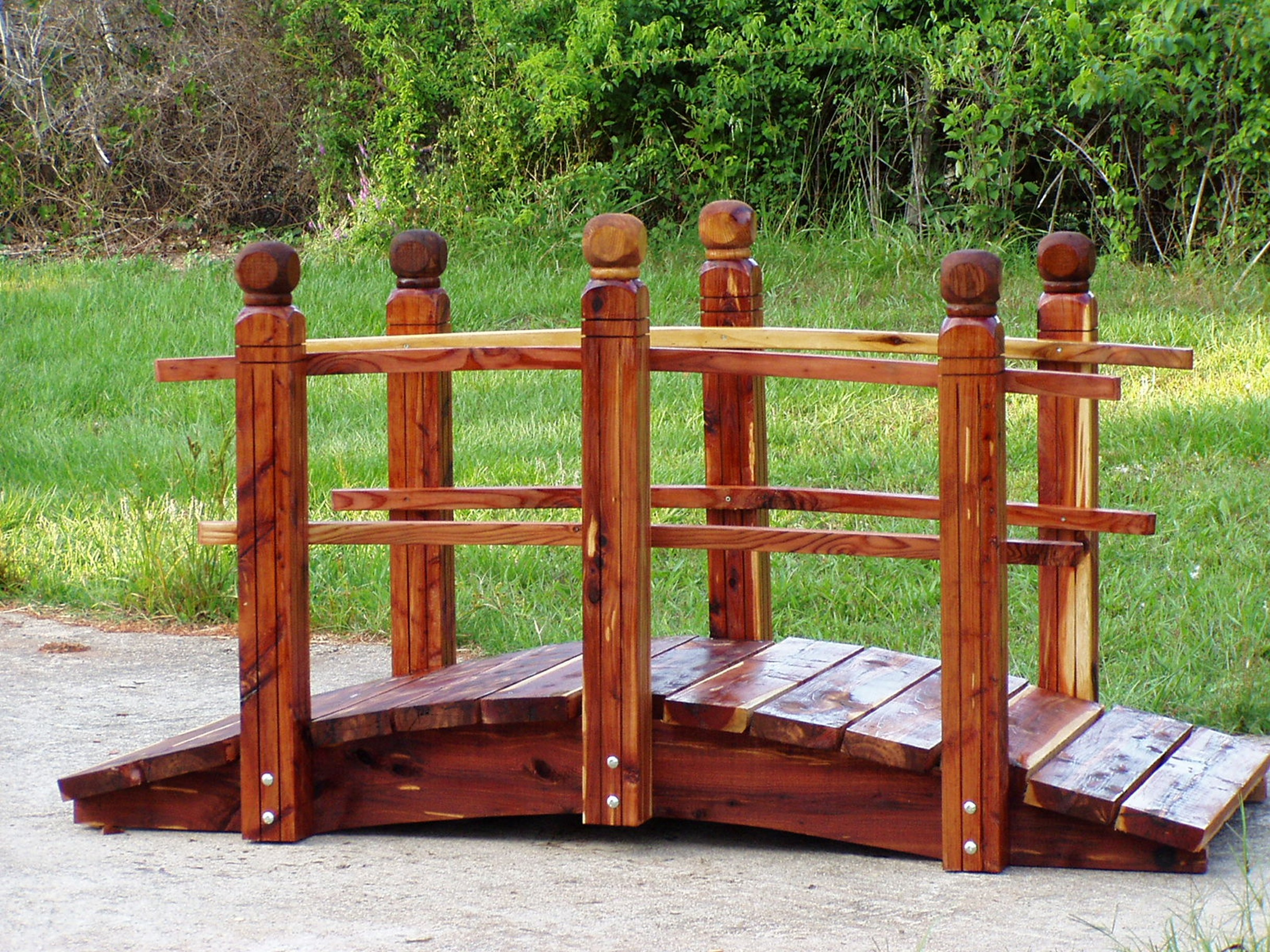 Handcrafted Garden Bridges Featured On Comcast Cable