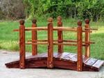 Garden Bridge custom handcrafted 8 ftlong