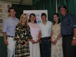 Phil & Amy Mickelson with Warrior Foundation Family
