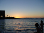Sunset at Condo Hotels project in Hawaii
