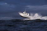 An initial Aerohead Aluminum Boat, a 2586, off of Neah Bay, WA.