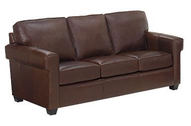 Preston Leather Sofa Selected For Fine