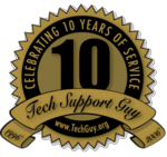 10 Years of Tech Support Guy