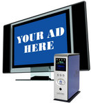 Combine a plazma TV with the Mvix Multimedia Player to create your own digital signage display.