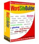 Word Site Builder software