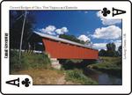 Covered Bridge Playing Card Sample