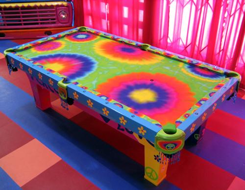 Hippie Themed Table Designed For Monster House ...