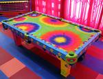 Hippie Themed Table Designed for Monster House