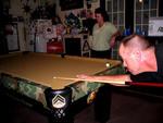 Vietnam Veteran Themed Pool Table