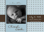 """Hush Little Baby"" - 5x7 Birth Announcement"