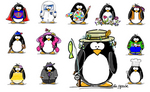 Sample of Penguin Personalities