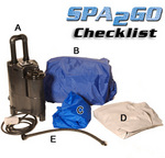 Spa2Go parts checklist