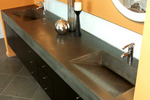 Dual, ramp counter sink.