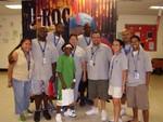 J-ROC with North Las Vegas Boys & Girls Club Staff.
