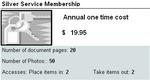 Silver Service Membership -- $19.95