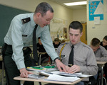 Students at Fork Union Military Academy follow a unique One Subject Plan curriculum.