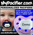 MyPacifier.com Personalized Pacifiers