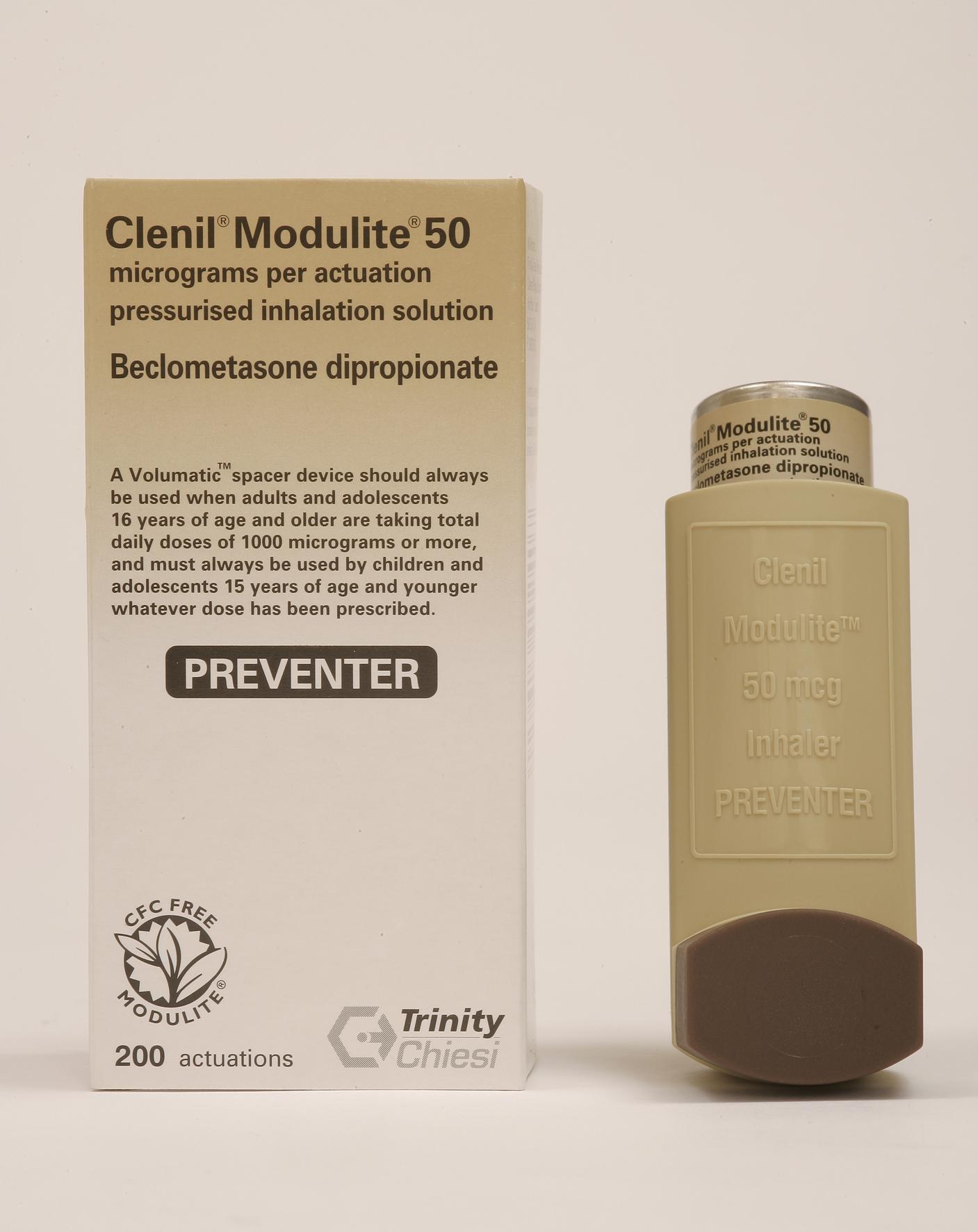 ventolin and steroid inhaler
