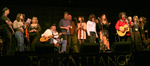 Lowan & Navarro, Jimmy LeFave, The Burns Sisters and others at Folk Alliance 2006.