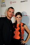 Rachel Bilson With Chef Yossi On The Red Carpet