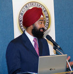 Ravi Singh, CEO of ElectionMall.com, at National Press Club